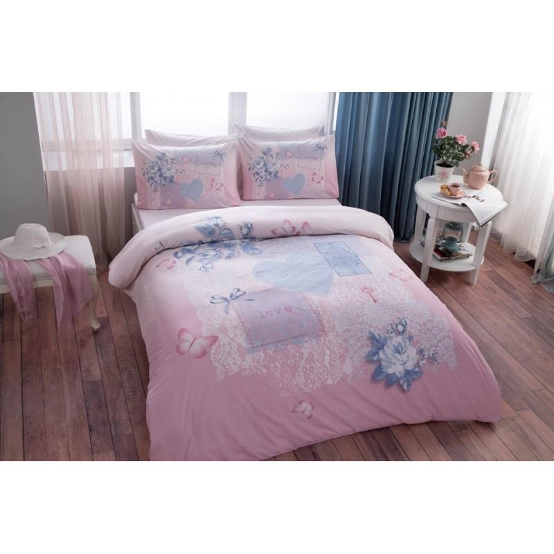 Tac Adelia 200x220 Bettwäsche Pink