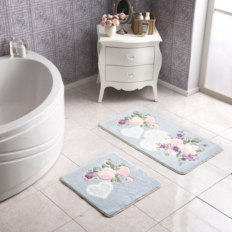 Tac HEART Bath Mat