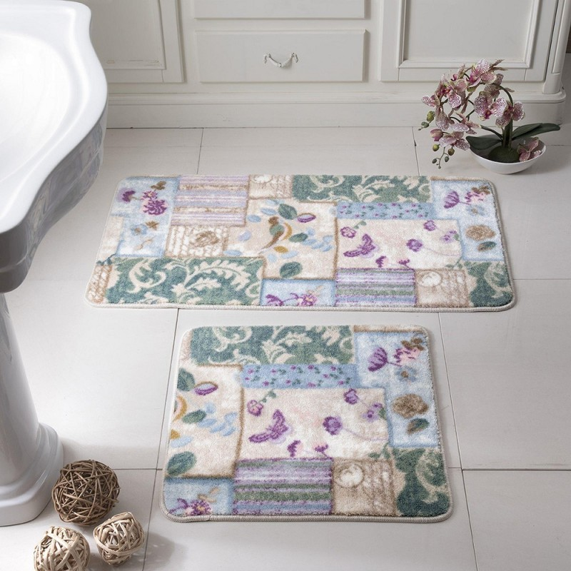 Tac PATCHWORK Bath Mat