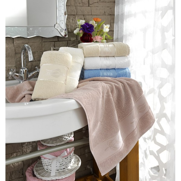 Baumwolle Handtuch Tulpen Kazel