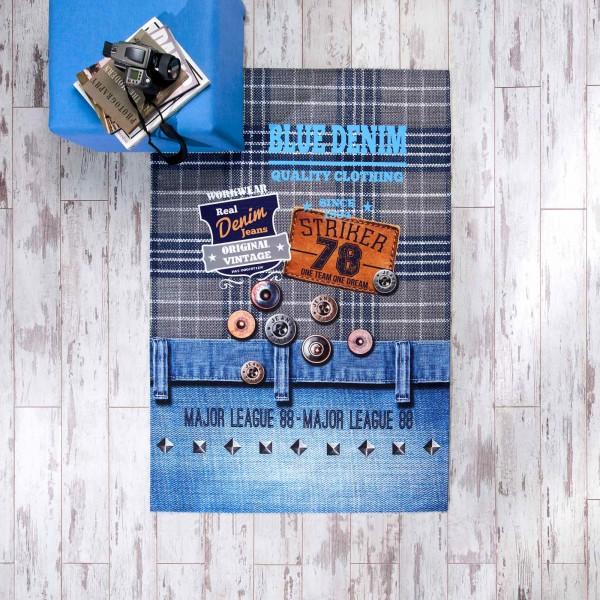 TEPPICHTAC Jeans - Teppich 80x140
