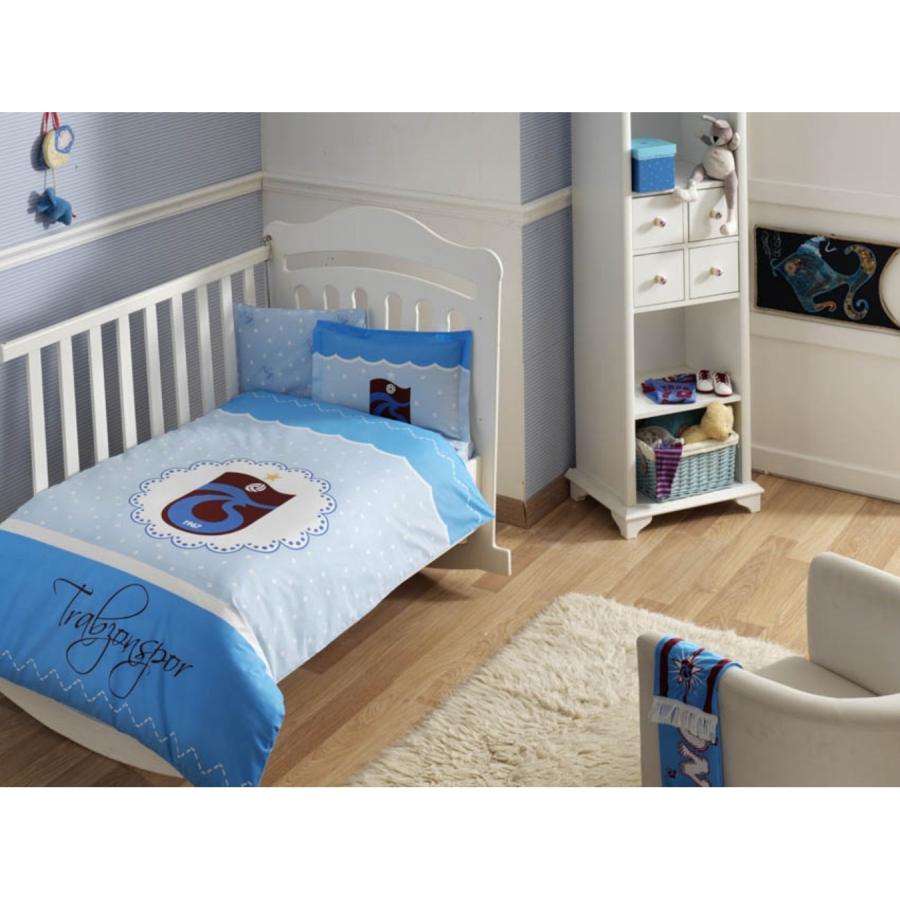 tac baby bettw sche set trabzonspor basic. Black Bedroom Furniture Sets. Home Design Ideas