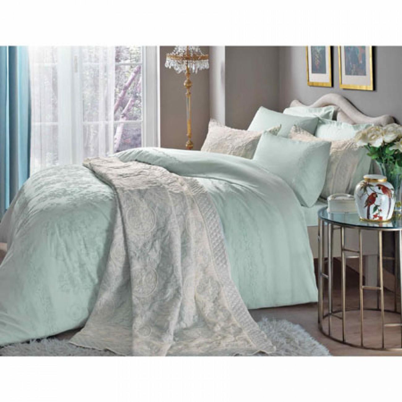 tagesdeckentac anette 250x240 jakar tagesdecken set mint. Black Bedroom Furniture Sets. Home Design Ideas