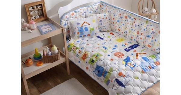 renforc baumwolletac happy dog baby schlafsatz set. Black Bedroom Furniture Sets. Home Design Ideas