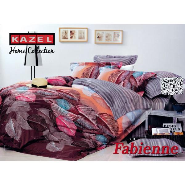 MAKO SATINKazel Satin Fabienne Bettwäsche 200x220cm