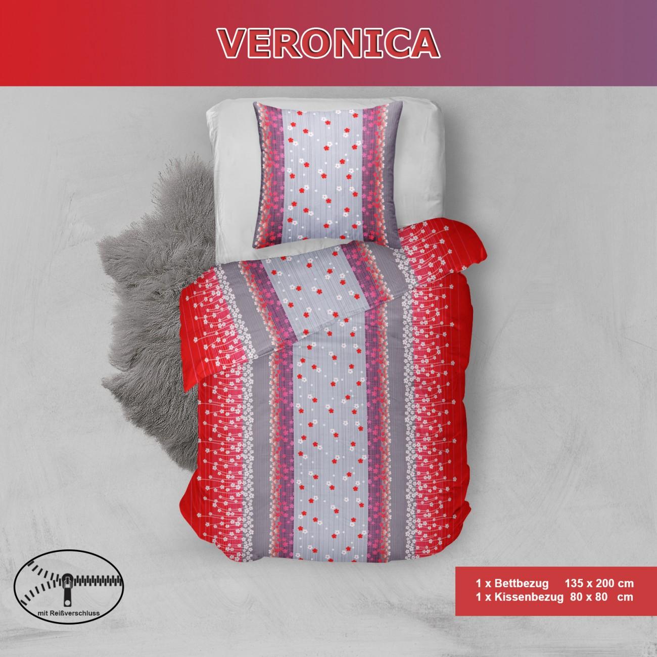 Microfibre Bed Linen Set 135 x 200 cm 100 Polyester 2 or